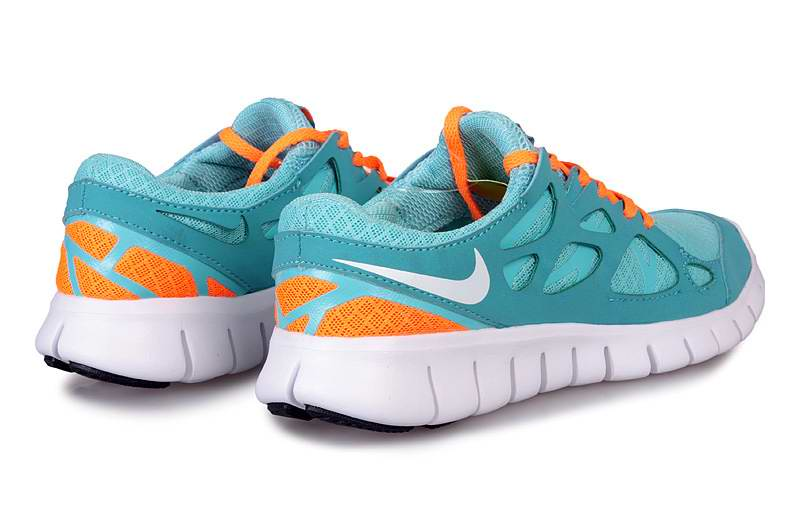 nike free run 2 womens blue